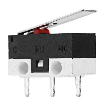 JGAURORA® 2A 125V YD-012-13.5-2 Limit Micro Switch for 3D Printer