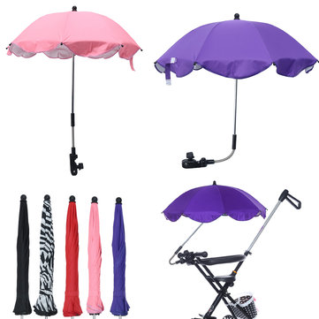 Buy Adjustable and flexible arm easy to fit  Foldable design, convenient to carry and keep. Baby Sun Umbrella Parasol Pram Pushchair Canopy Protect From Sun Rain Universal  Flexible and adjustable. Easy t with Litecoins with Free Shipping on Gipsybee.com