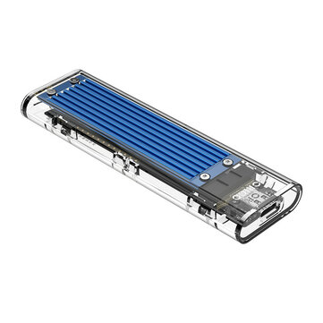 ORICO TCM2-C3 NVMe M.2 Transparent SSD HDD Enclosure 10Gbps USB3.1...