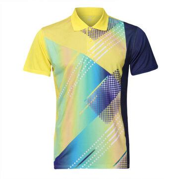 पुरुषों रंगीन त्वरित सुखाने की मशीन जिम टी शर्ट स्लिम फ़िट लघु आस्तीन टी शर्ट