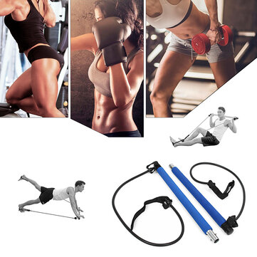 KALOAD Elastic Fitness Yoga Pilates Belt Buttocks Lifting Body Beauty Multifunctional Yoga Bar