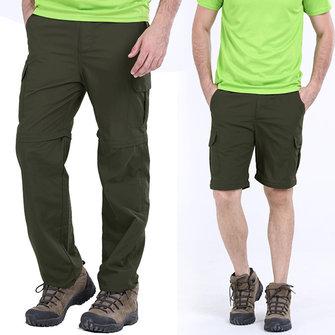 बड़े आकार एस -5 एक्सएल आउटडोर त्वरित सुखाने पैंट ग्रीष्मकालीन पुरुषों डिटेक्टेबल सन-सबूत हाइकिं