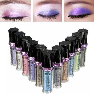 11 färger glitter ögonskugga sticka smink verktyg öga skugga liner pen penna comestic