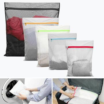 KCASA KC-LB460 5 cái Lưới Giặt Túi Lưu trữ Du lịch Đóng gói Giặt Quần áo Túi hành lý Tổ chức