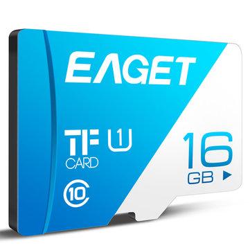 EAGET T1 Cartão TF Cartão de Memória 16GB/32GB/64GB / 128GB Classe 10 TF Card