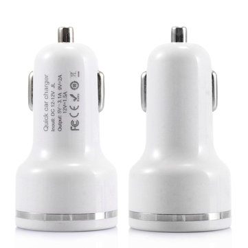 Bakeey Dual USB Ports Fast Car Charger For iPhone X 8Plus Oneplus 5t Xiaomi 6 Mi A1 S8