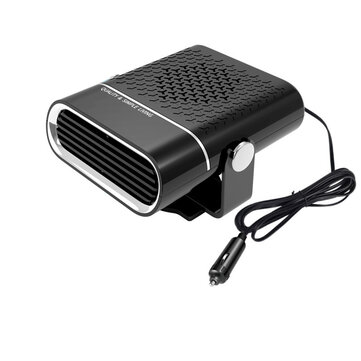 Portable Car Heater Fast Heating Fan 360 Degree Rotary Winter Defroster Demisting Air Purification 12V/24V 150W/260W