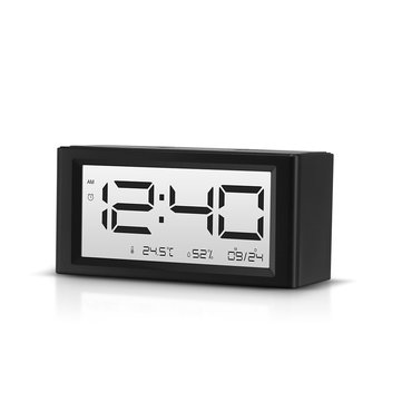 [2019 Third Digoo Carnival] Digoo DG-C4S  Calendar Count-down Timer Snooze Function Alarm Indoor Temperature Humidity White Backlight Day Night  Display Alarm Clock