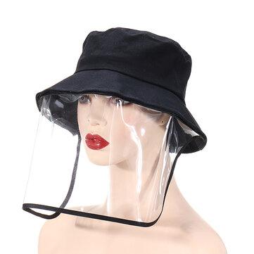 Anti-fog Spraying Fisherman Hat Anti-dust Breathable Face Mask Sunshade Windshield Sports Protective Mask Fishing Hat