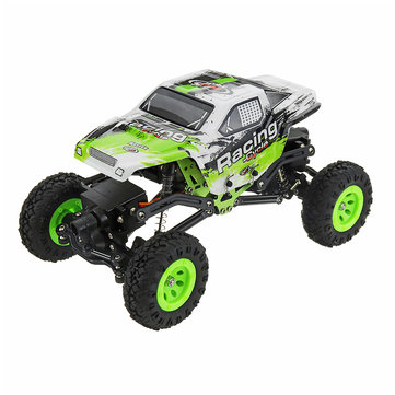 WLtoys 24438B 4WD Dual Steel Ring Servo Climbing Double Steering Gear Frame RC Car