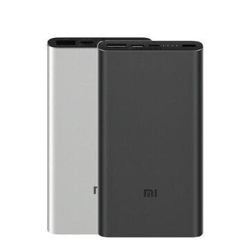 Original 2019 Xiaomi 10000mAh Power Bank 3 Dual Input Output 18W Two-way QC3.0 Quick Charge for Mobile Phone