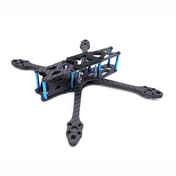 Strech X5 Freestyle 220mm Wheelbase 5.5mm Arm 5 Inch FPV Racing Frame Kit 108g 30.5x30.5/20x20mm for RC Drone