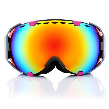 d3189a43 Motorcycle Professional Spherical Dual Red Lens Snowboard Ski Goggles Anti  Fog UV Glasses(1)US$19.37COD ...