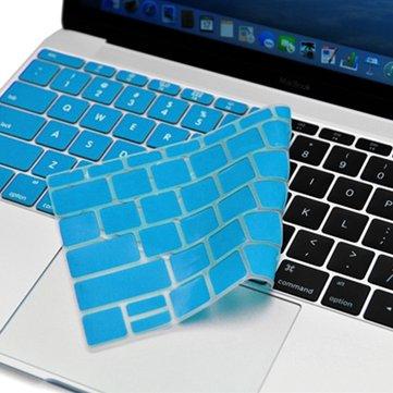 Soft Beskyttelsesdeksel på silikon tastatur for MacBook 12 tommers