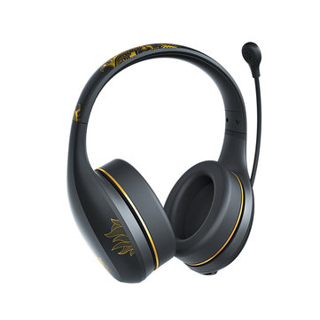 a1693480496 Xiaomi Wireless bluetooth Headphone K-Song Palace Museum Special Edition  Stereo Heaset with HD Mic - Black COD