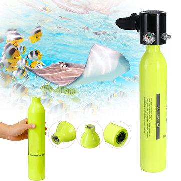 Attrezzatura subacquea di immersione della bottiglia di respirazione del cilindro del subacqueo del carro armato dello scuba di riserva di ossigeno 0.5L