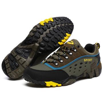 Outdoor Kaygısız Kaymayan Erkekler Atletik Koşu Sporları Tırmanma Yürüyüş Ayakkabıları