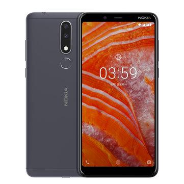 NOKIA 3.1 Plus Global ROM 6.0 inch Fingerprint 3GB RAM 32GB ROM Helio P22 Octa core 4G Smartphone