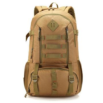 50 л большой рюкзак емкость на открытом воздухе водонепроницаемый Nylon мужские спортивные сумки рюкзак
