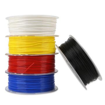 Creality 3D® branco / negro / amarillo / azul / vermello 1KG 1.75mm PLA Filament Para 3D Printer