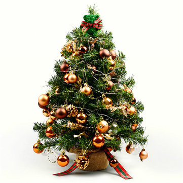 The One DIY Christmas Tree Decoration Set Detachable Ornaments LED Light Gift Box Home Festival Decor from Xiaomi Youpin