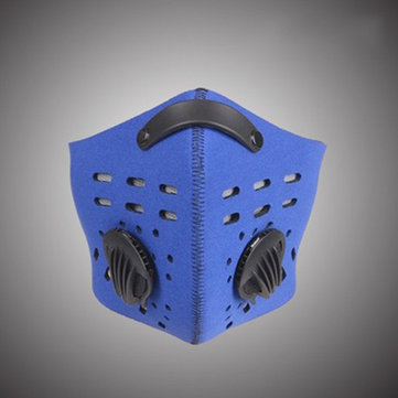 Men Women Activated Carbon Air Filter Dustproof Mask Half Face Cycling Sports Training Mask