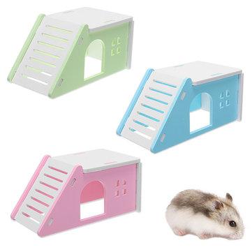 Giocattolo di esercitazione del nido della finestra della scaletta di Liftable della base del gabbiano della casa del criceto del mouse dell'animale domestico