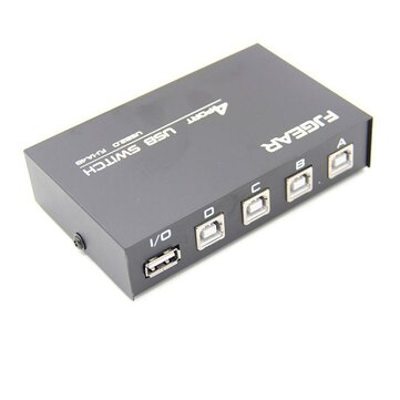 How can I buy 4 in 1 Printer Sharer Switcher 4 Ports USB Manual Switcher Usb 2 0 Hub with Bitcoin