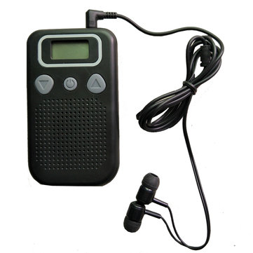 Personal Ear Hearing Aid Device Booster Sound Hearing Amplifier Digital FM Radio