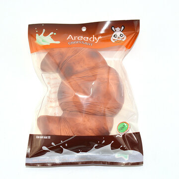 Areedy 18cm Croissant Squishy Scented Licensed Super Slow Rising Bread With Original Package