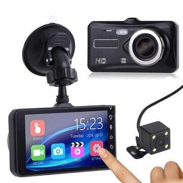 1080P Touch Screen Car DVR Camera Recorder Dual Lens Front and Rear HD Dash CamCar DVRsfromAutomobiles & Motorcycleson banggood.com