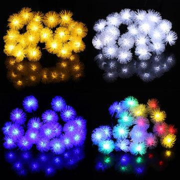 Solar Led Christmas Lights.4 8m Solar Power Light Control 20 Led Christmas Fairy String Light Party Outdoor Patio Decor Lamp