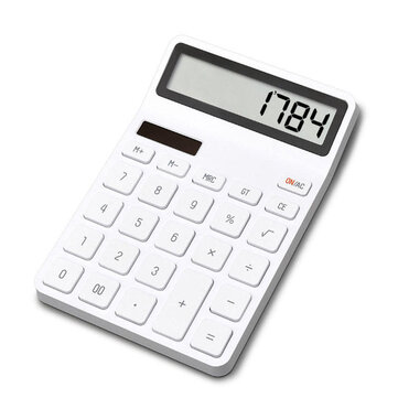 LEMO Desktop Calculator Photoelectric Dual Drive 12 Number Display Automatic Shutdown Calculator For Office Finance