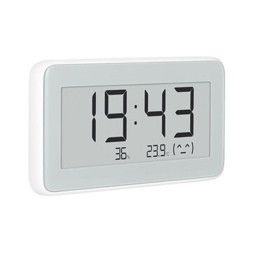 Mijia BT4.0 Wireless Smart Electric Digital Indoor&Outdoor Hygrometer Thermometer Clock