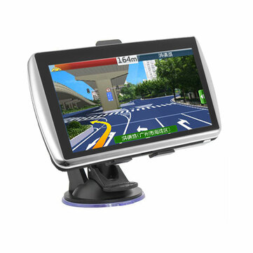 7 Inch Car GPS Navigation Sat Nav TFT LCD Touch Screen Support North America Europe Map