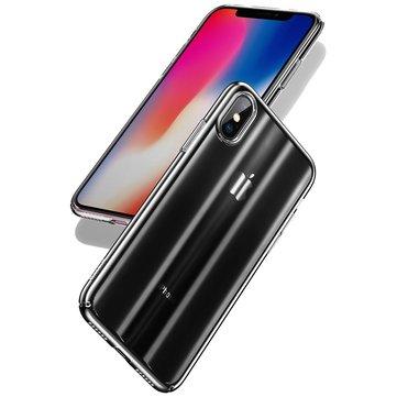 Baseus Laser Aurora Gradient Color Hard PC for beskyttelsesveske til iPhone X