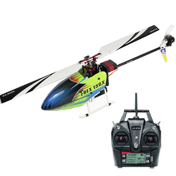 ALIGN T-REX 150X TA 2.4G 6CH Super Combo 3D Mini Helicopter with A10 Transmitter RTF