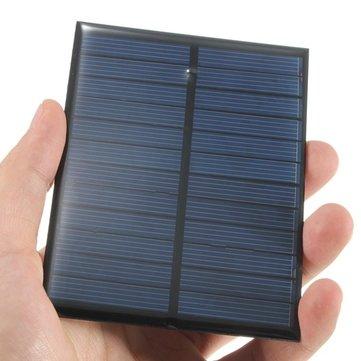 6V 1.1W 200mA Mini Monocrystalline Solar Panel Photovoltaic Panel