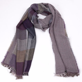 Mens Winter Mens Plaid Scarf Ultra Soft Shawl Windproof Neck Gaiters Valentine's Day Gifts for Men