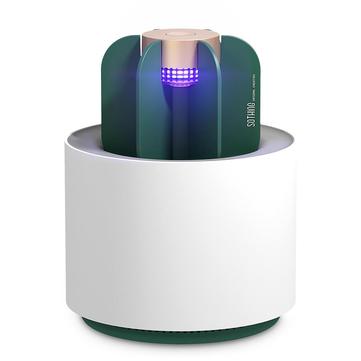 [优化版]新小蜜Sothing仙人掌灭蚊灯紫外线灯驱蚊Eletric USB无烟无味陷阱室外灭虫灯