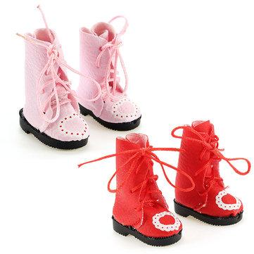 BBGirl 30cm 35cm BJD Doll 3.4cm Boots Shoes DIY Accessories Collection Toy