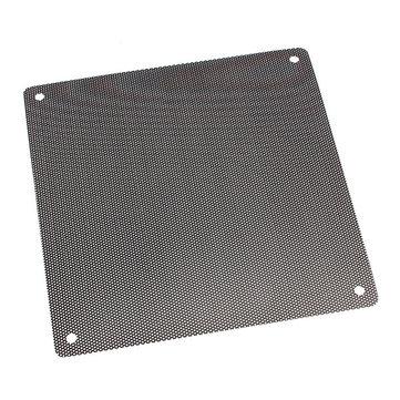 PVC Black PC Cooler Fan Dust Collector Filter Dustproof Case Cover Computer Mesh Replaceable