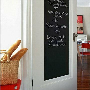 Chalk Blackboard Stickers Removable Draw Decor Mural Decals Art Chalkboard Wall Sticker for Kids