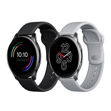 [bluetooth Call] Original OnePlus Watch 46MM 1.39 inch AMOLED Screen 110 Sports Modes BT5.0 Heart Rate Blood Oxygen Monitor Music Player 5ATM+IP68 Waterproof GPS Smart Watch