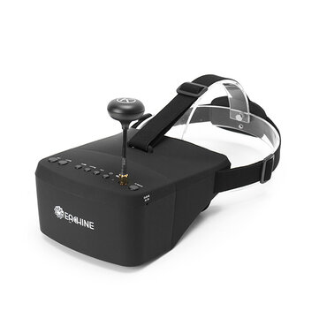 Eachine EV800 5 Inches 800x480 FPV Goggles 5.8G 40CH Raceband Auto-Searching Build In Battery