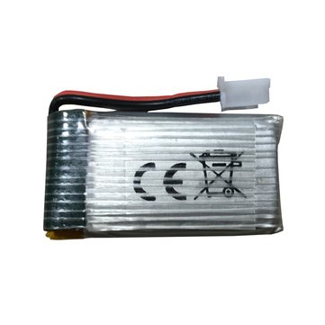 1S 3.7V 450mAh LiPo Battery With Dual Protection Board Spare Part For Z51 Predator RC Airplane