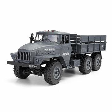 MZ YY2004 2.4G 6WD 1/12 Military Truck Off Road RC Car Crawler 6X6 Toys