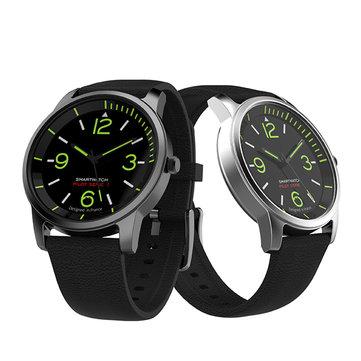 S-69 Smart Quartz Watch TPE Strap Intelligent Information Remind Luminous Sport Smart Watch
