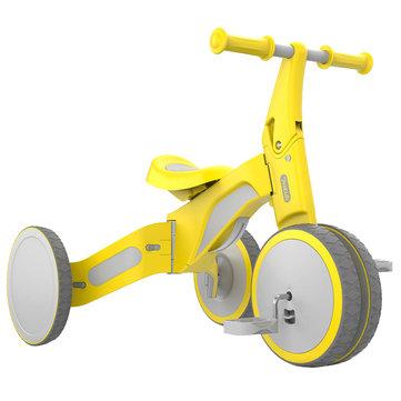 700Kids TF1 Bici a due modalità per giro in triciclo per auto bilanciata deformabile per bambini