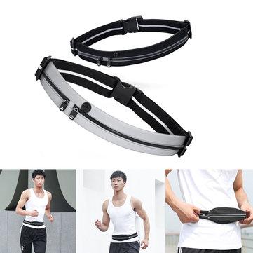 YUNMAI Waterproof Waist Bag Double Pockets Reflective Sport Running Pack Headphone Belt Pouch from Xiaomi Youpin